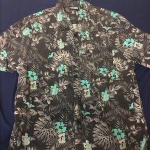 Vans Short Sleeve Button Up